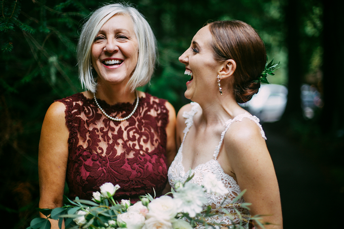 Mother and the bride