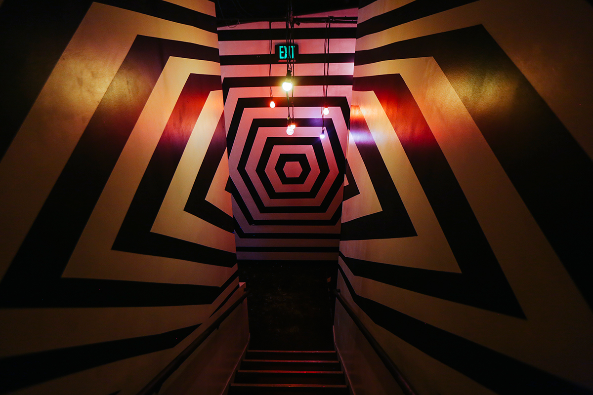 Meow Wolf staircase
