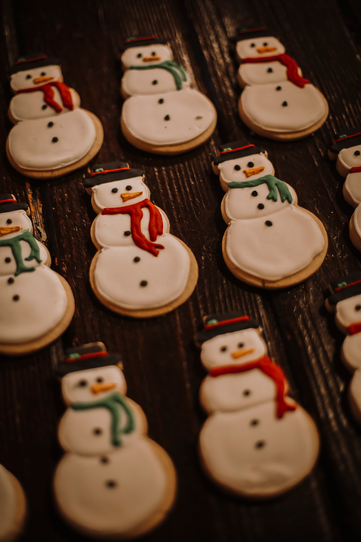 Snowman cookies