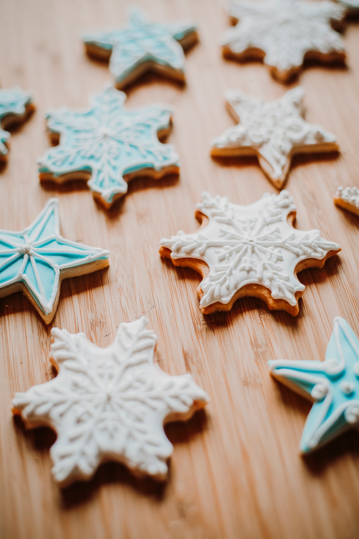 Snowflake cookies